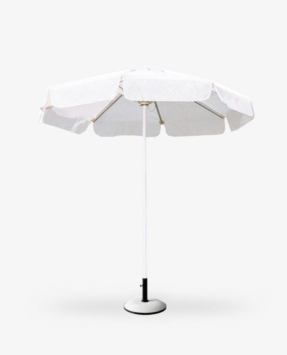 Ομπρέλα αλουμινίου πάνινη παραλίας