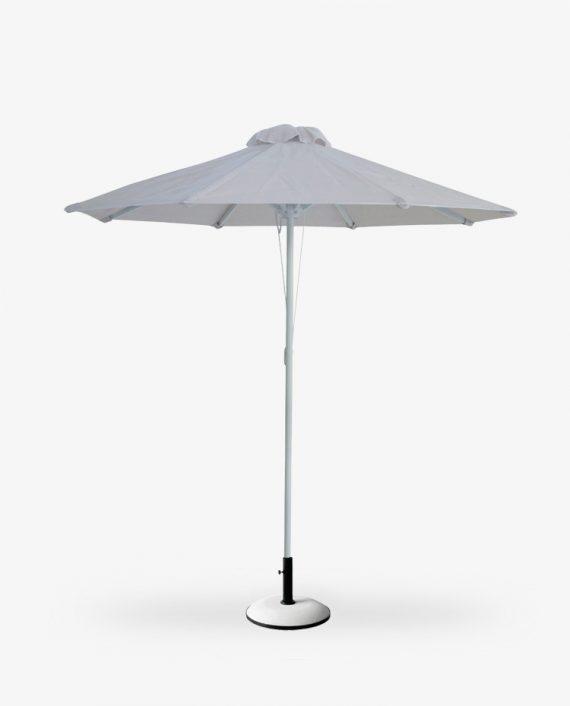 Διάτρητη ομπρέλα πάνινη αλουμινίου PVC