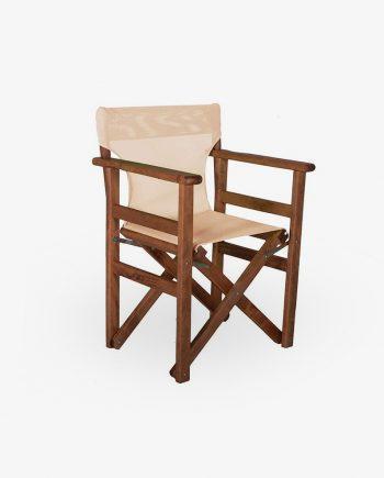 Καρέκλα σκηνοθέτη ξύλινη οξιά
