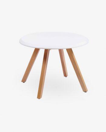 Ξύλινο_τραπέζι_με_λευκή_επιφάνεια