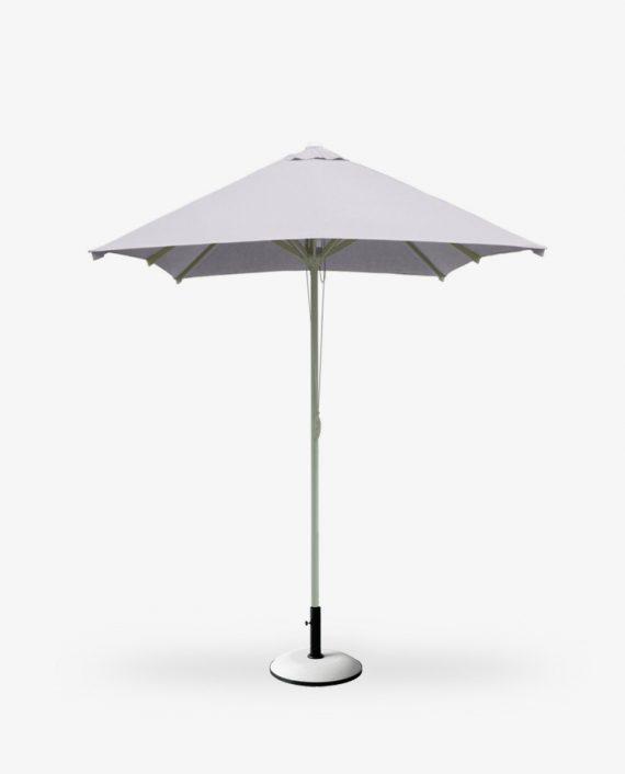 Πάνινη ομπρέλα αλουμινίου 2Χ2μ τετράγωνη