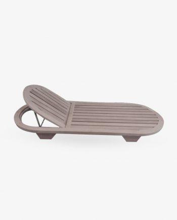 Ξαπλώστρα ξύλινη Οβάλ